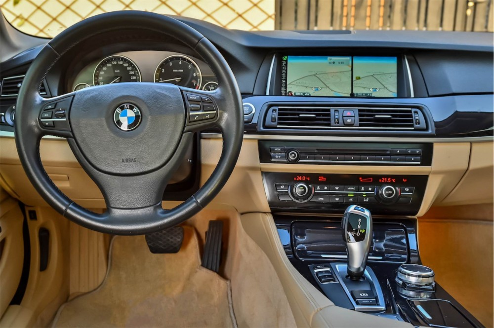 buy slightly used BMW 535i without downpayment