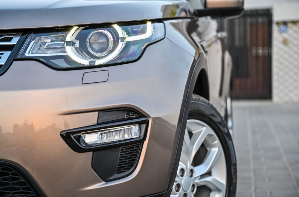 buy pre-owned Land Rover Discovery Sport HSE in UAE