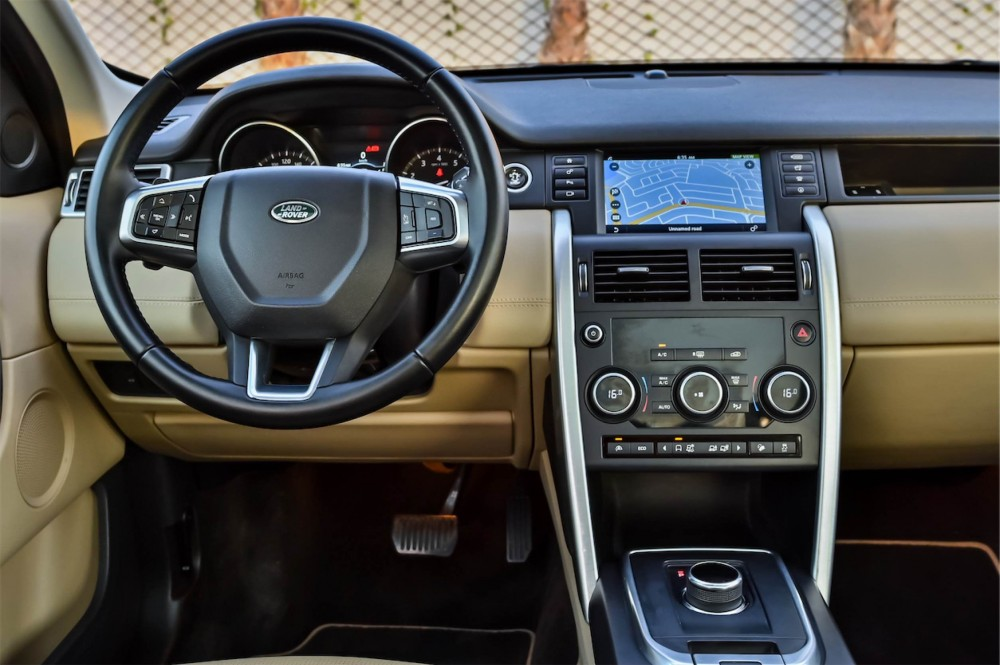 buy approved Land Rover Discovery Sport HSE in UAE
