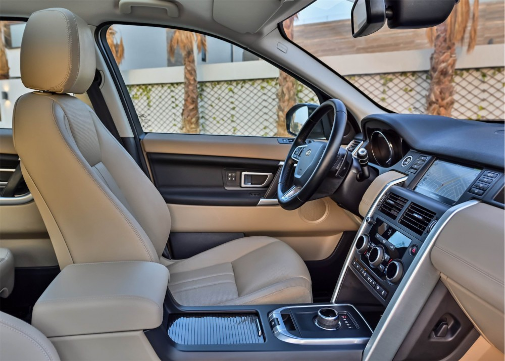 buy second hand Land Rover Discovery Sport HSE in UAE
