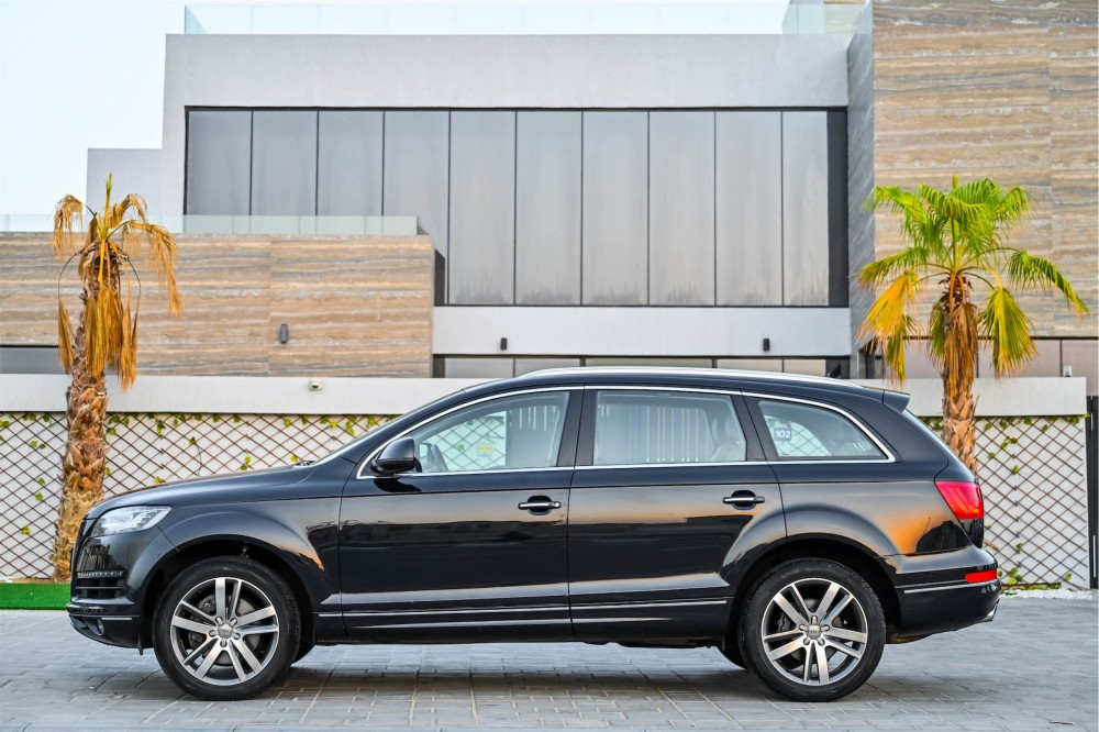 buy used Audi Q7 with warranty