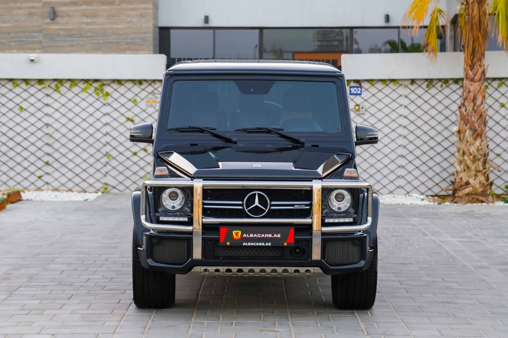 buy slightly used Mercedes Benz G63 AMG with warranty