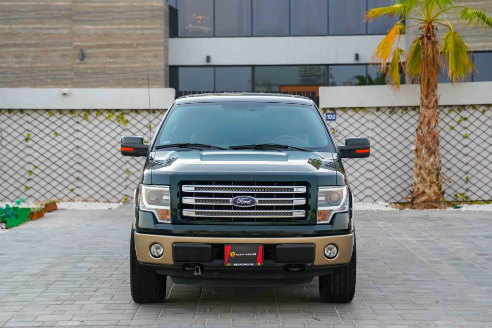 buy approved Ford F-150 King Ranch Double Cabin with warranty