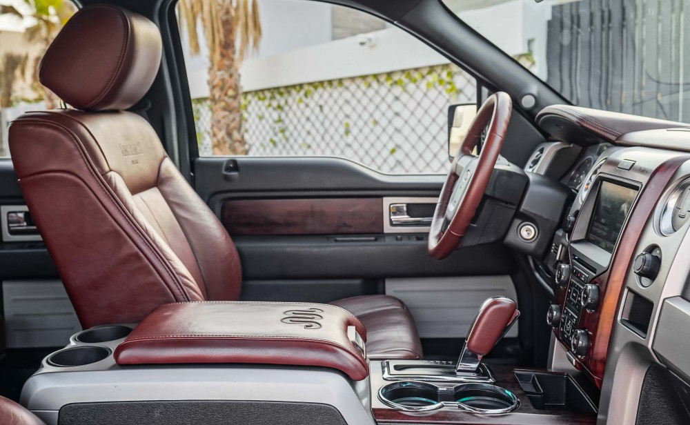 buy slightly used Ford F-150 King Ranch Double Cabin in Dubai