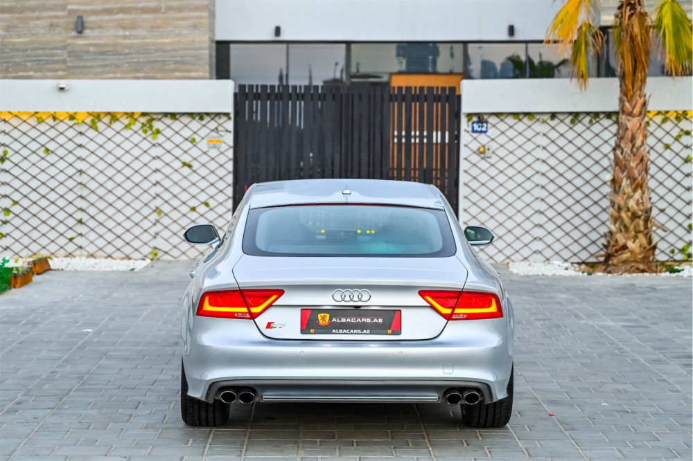 buy slightly used Audi S7 4.0L with warranty