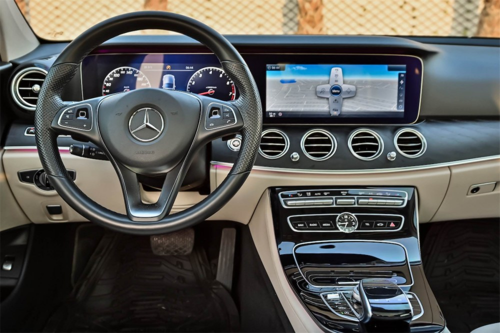 buy second hand Mercedes-Benz E200 AMG without downpayment