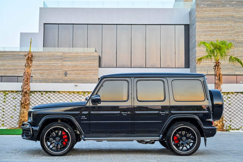 buy certified Mercedes G63 AMG with warranty