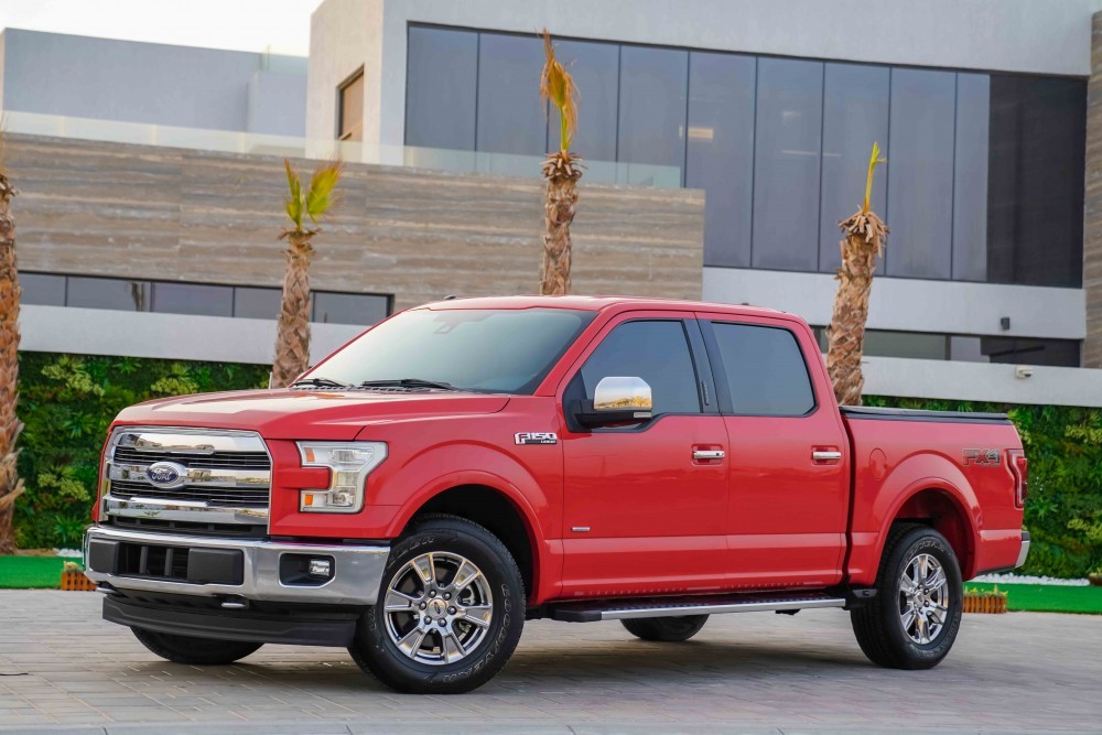 buy second hand Ford F-150 Lariat Ecoboost Double Cabin with warranty