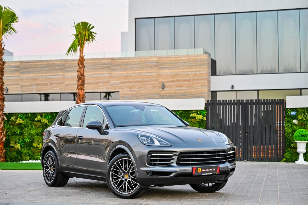 buy certified Porsche Cayenne - Chrono Package with warranty