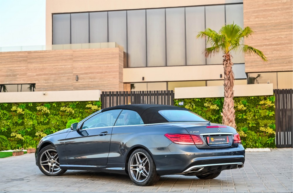 buy used Mercedes-Benz E250 Convertible in UAE
