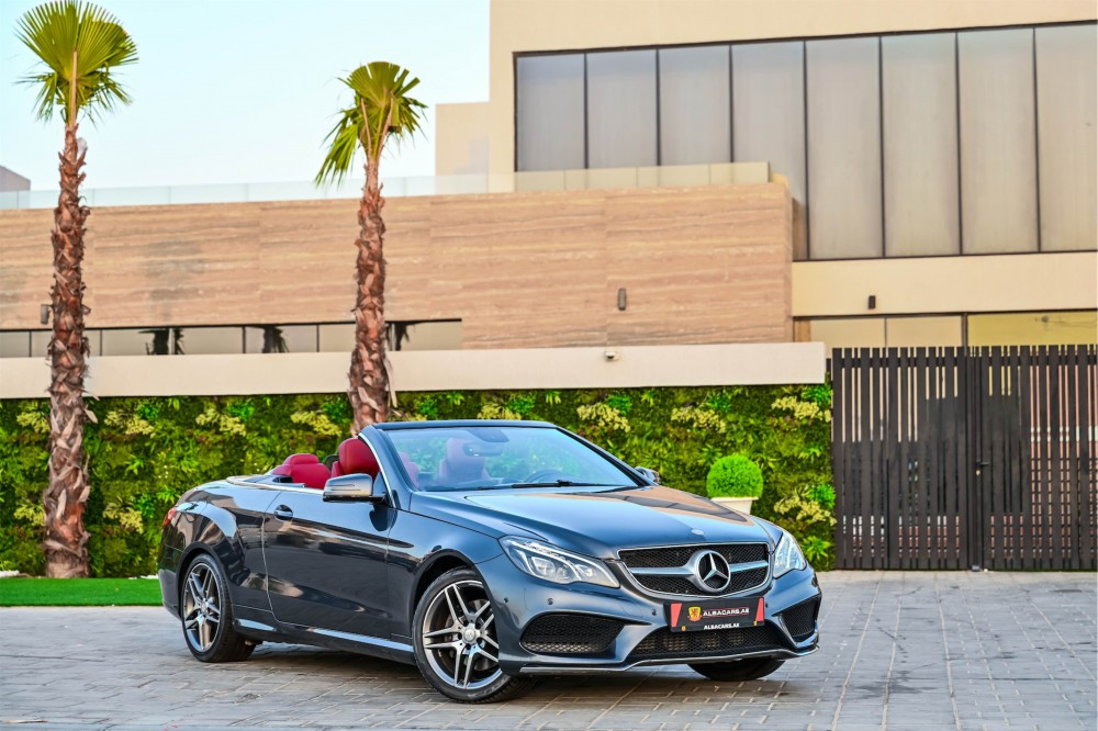buy slightly used Mercedes-Benz E250 Convertible in UAE