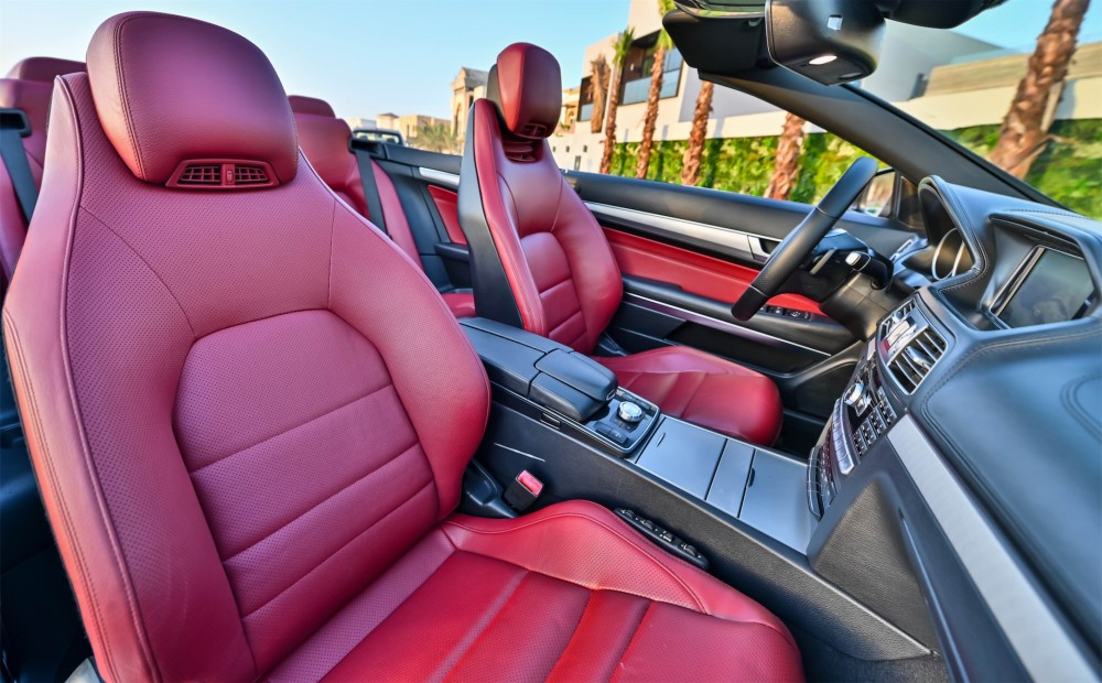buy used Mercedes-Benz E250 Convertible with warranty