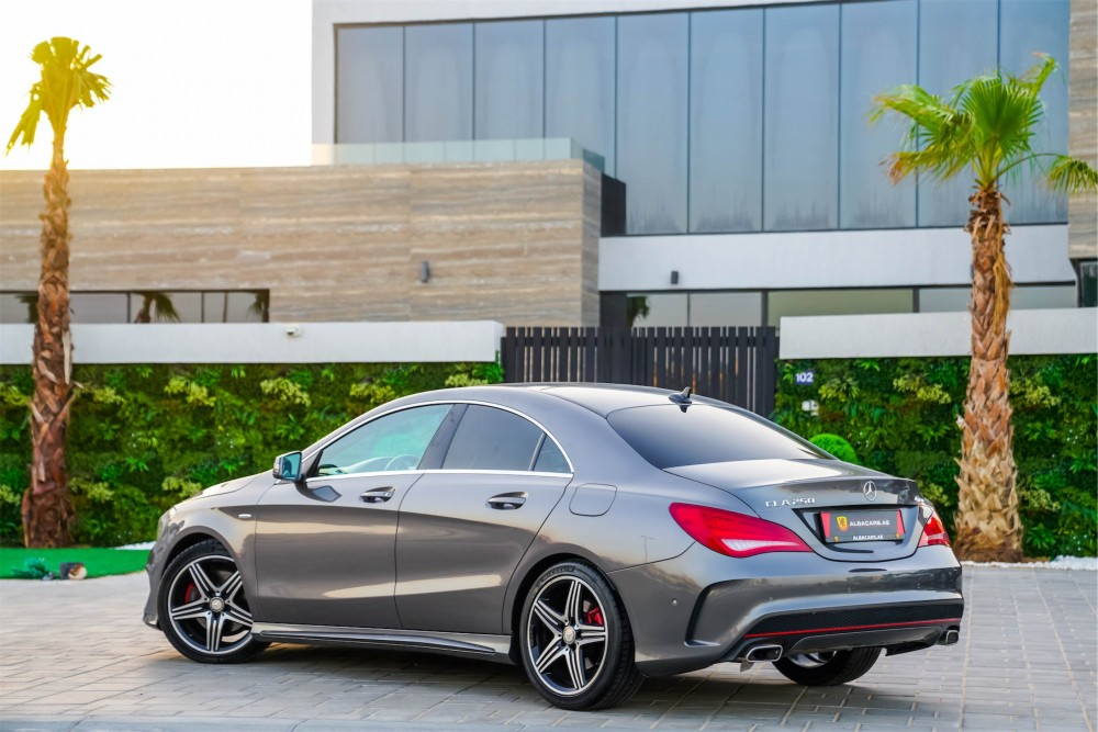 buy second hand Mercedes CLA 250 AMG in UAE