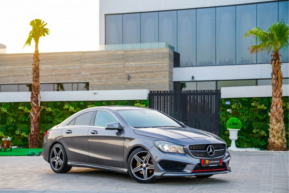 buy slightly used Mercedes CLA 250 AMG without downpayment