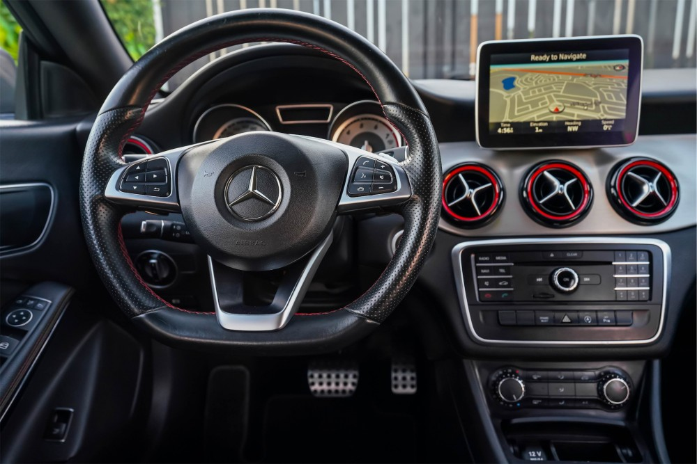 buy used Mercedes CLA 250 AMG with warranty