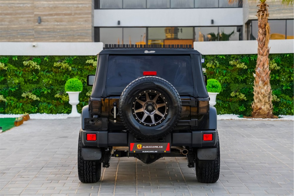buy second hand Jeep Wrangler with warranty