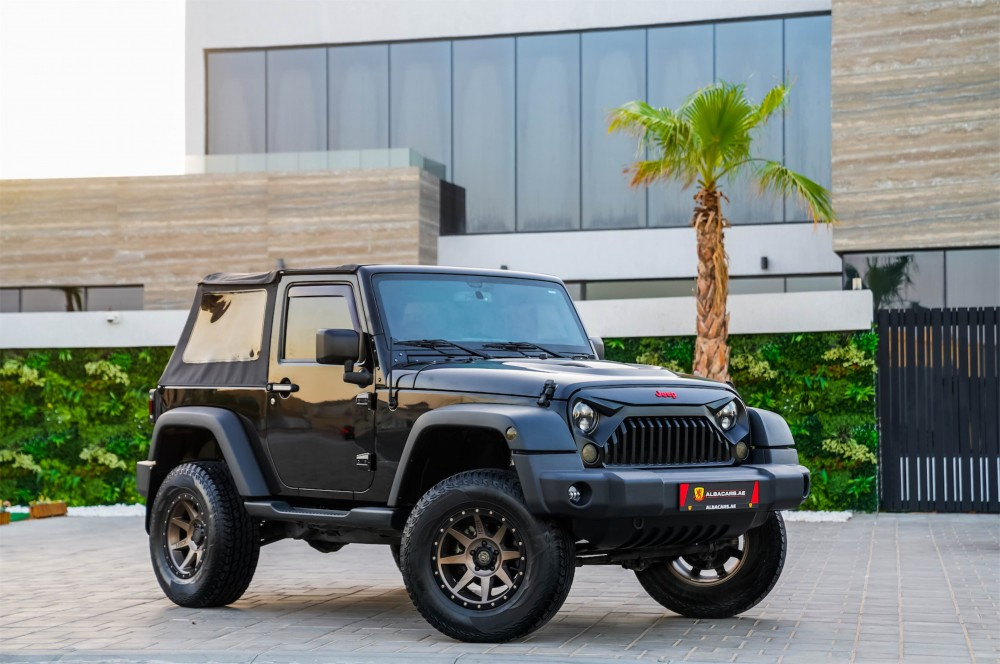 buy slightly used Jeep Wrangler without downpayment