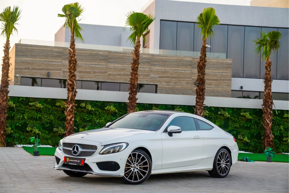 buy second hand Mercedes Benz C200 Coupe in Dubai
