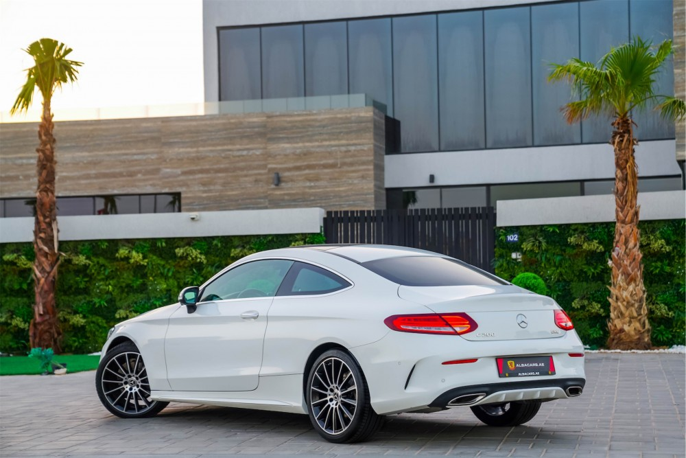 buy approved Mercedes Benz C200 Coupe without downpayment