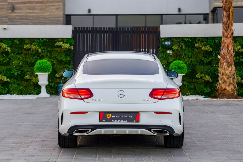 buy second hand Mercedes Benz C200 Coupe without downpayment