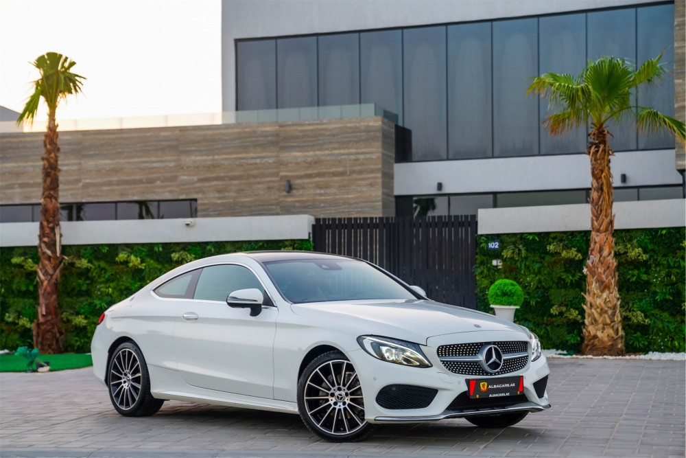 buy used Mercedes Benz C200 Coupe without downpayment