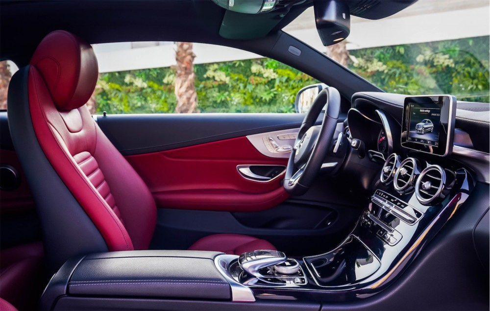 buy certified Mercedes Benz C200 Coupe without downpayment