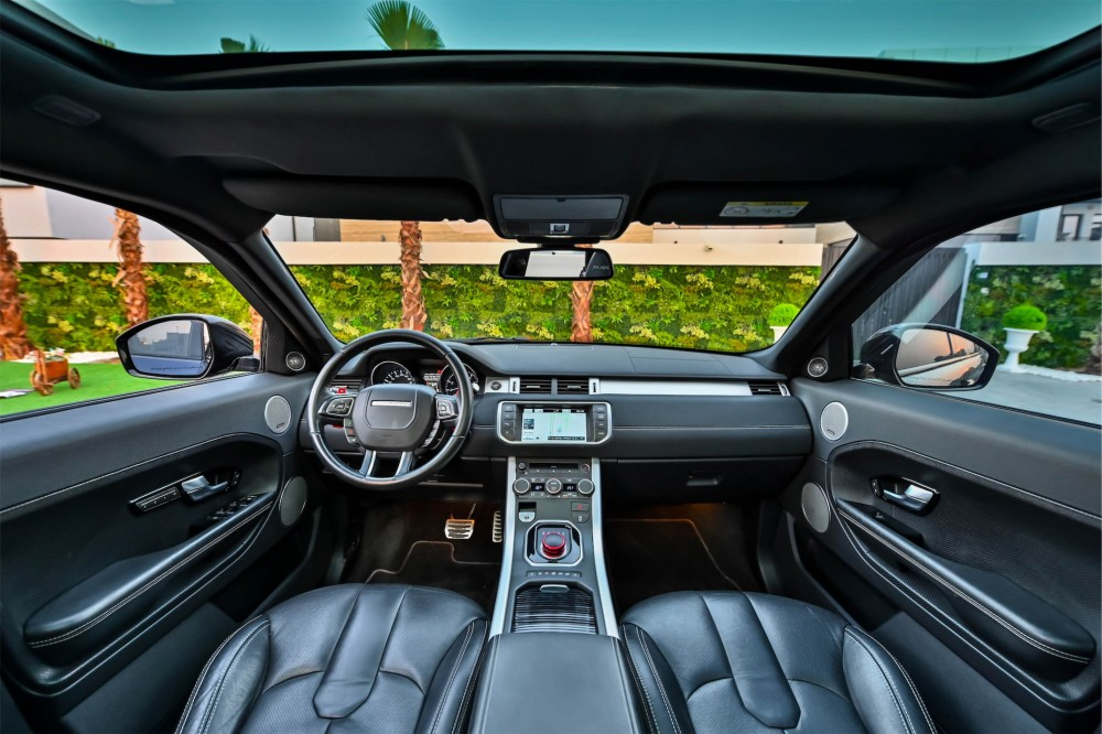 buy second hand Range Rover Evoque Dynamic with warranty