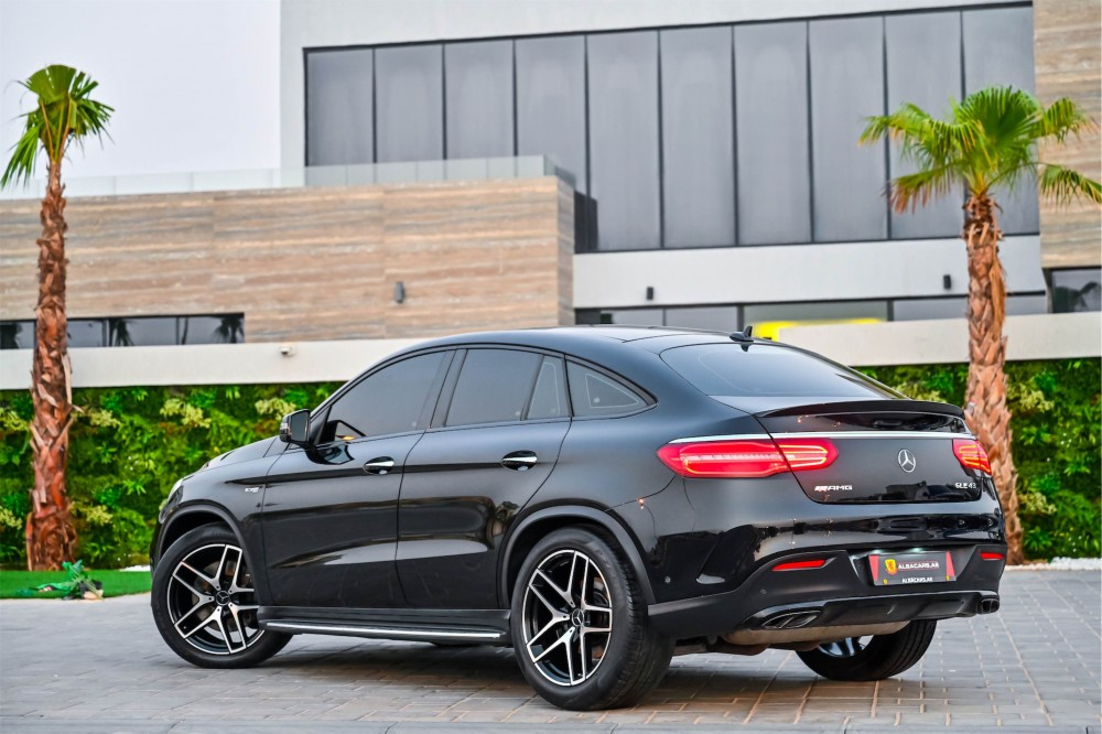 buy certified Mercedes Benz GLE43 AMG with warranty
