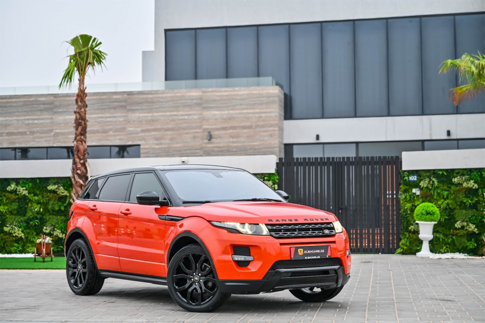 buy used Range Rover Evoque Dynamic with warranty