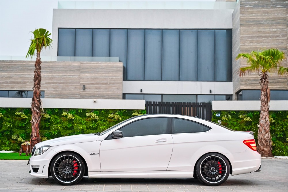 buy second hand Mercedes Benz C63 AMG Coupe 6.3L in UAE