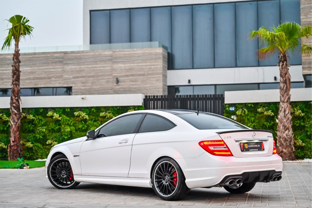 buy second hand Mercedes Benz C63 AMG Coupe 6.3L with warranty