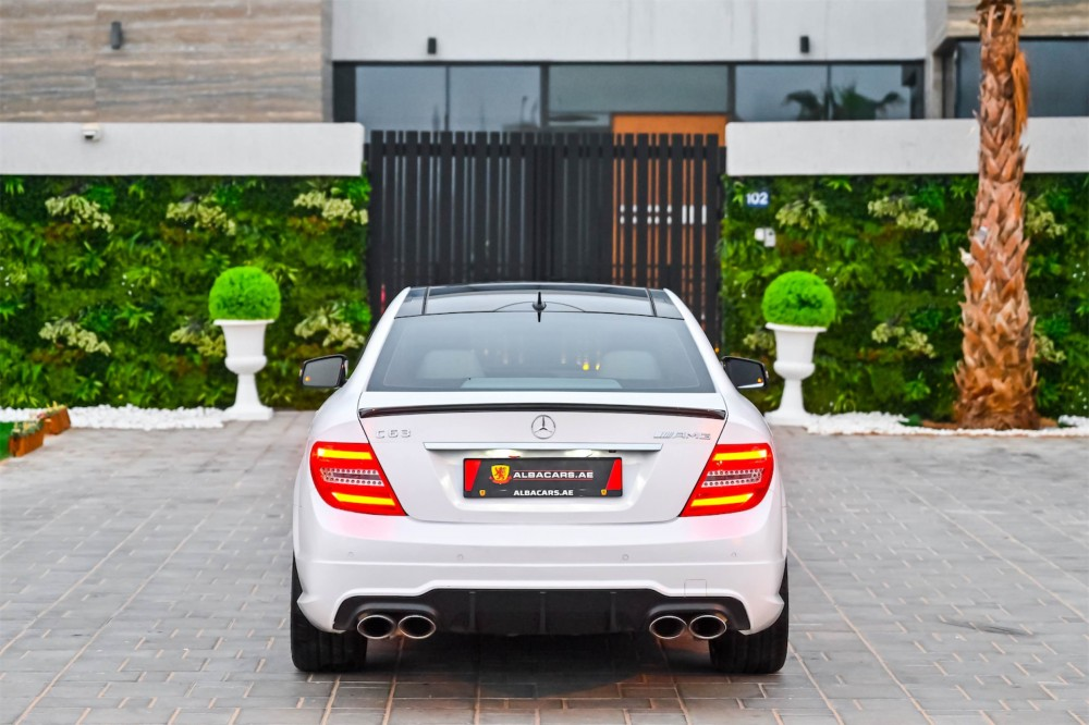 buy slightly used Mercedes Benz C63 AMG Coupe 6.3L in UAE