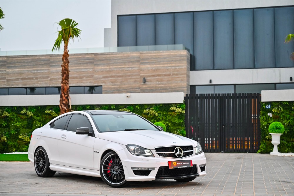 buy used Mercedes Benz C63 AMG Coupe 6.3L with warranty