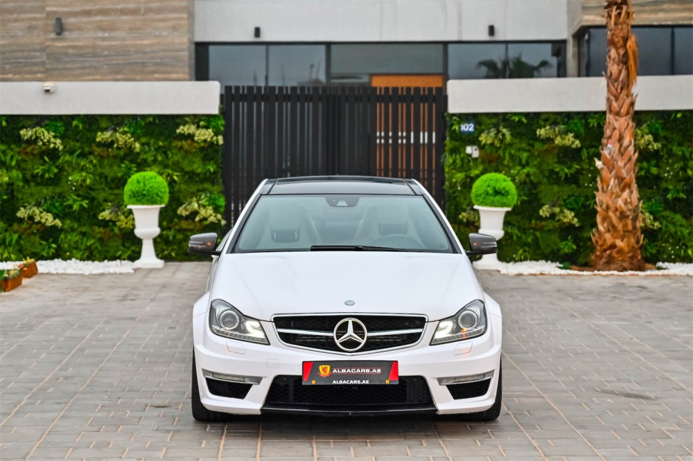 buy certified Mercedes Benz C63 AMG Coupe 6.3L without downpayment