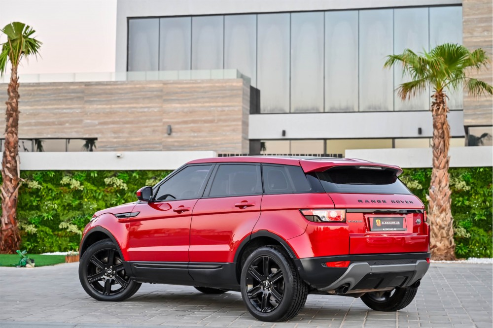 buy pre-owned Range Rover Evoque with warranty