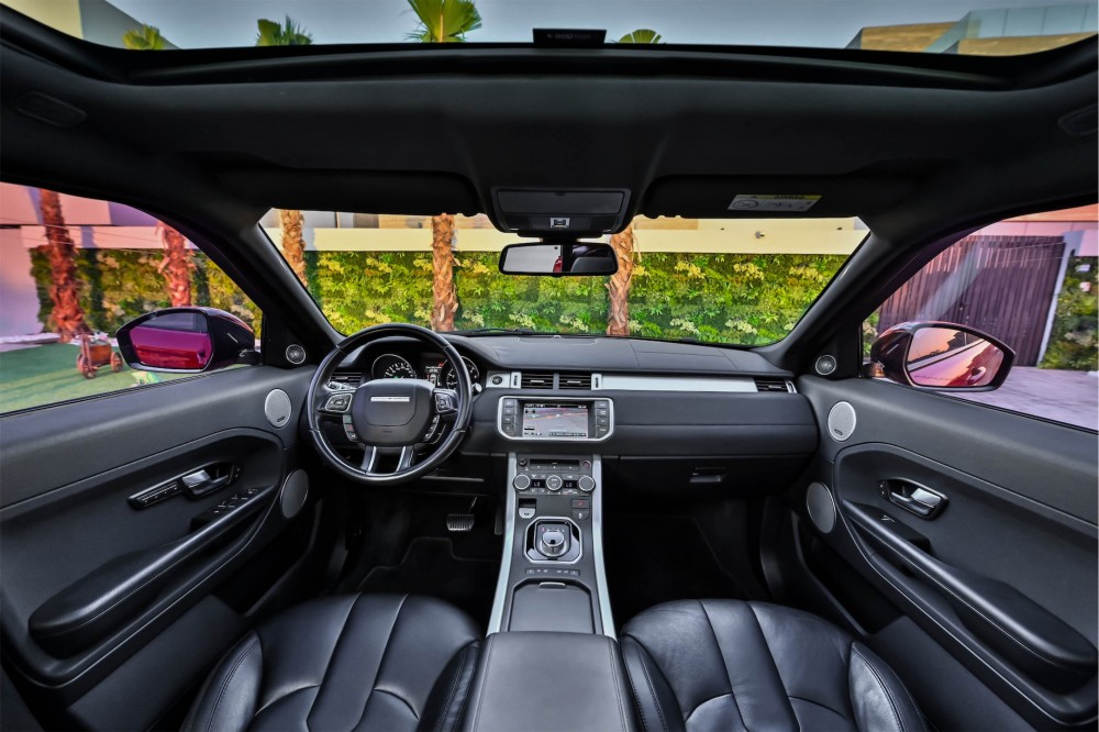 buy approved Range Rover Evoque without downpayment