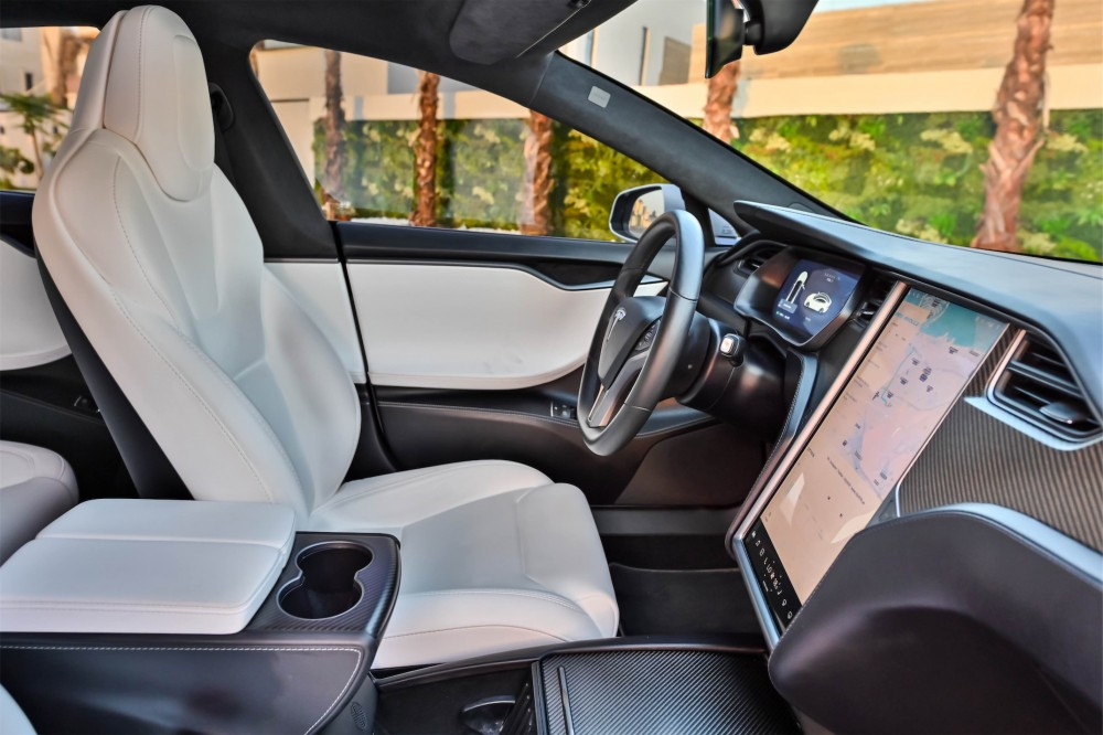 buy slightly used Tesla Model S 75D without downpayment