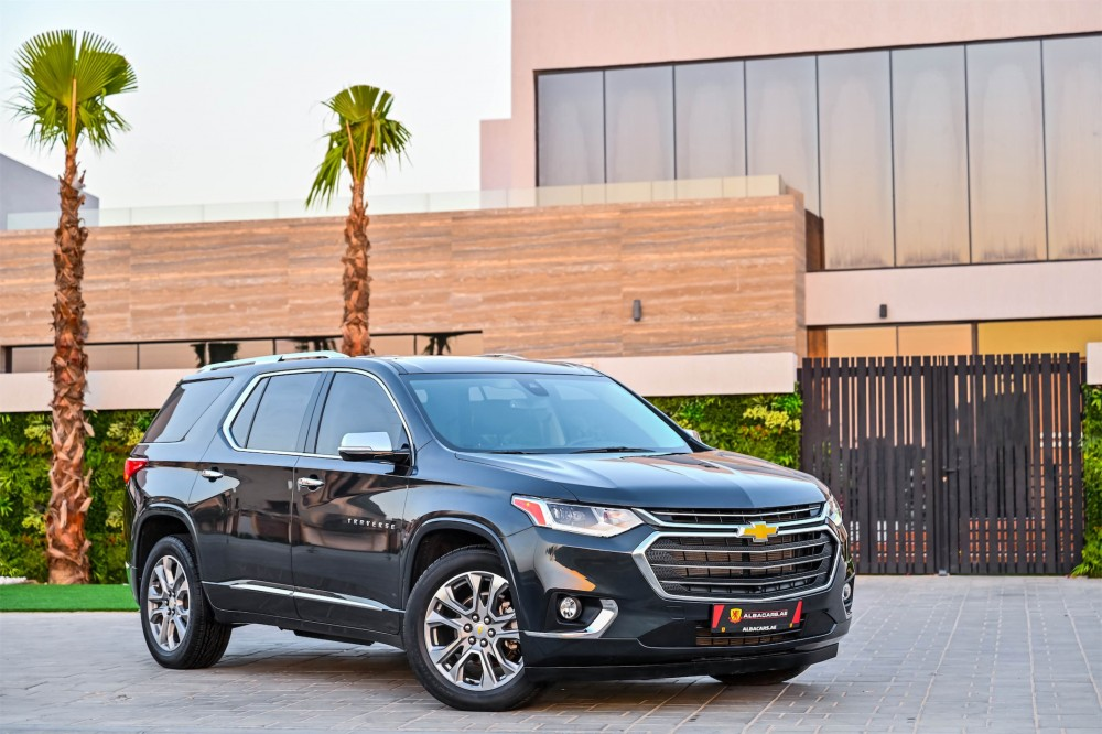 buy used Chevrolet Traverse Premier 3.6L AWD with warranty